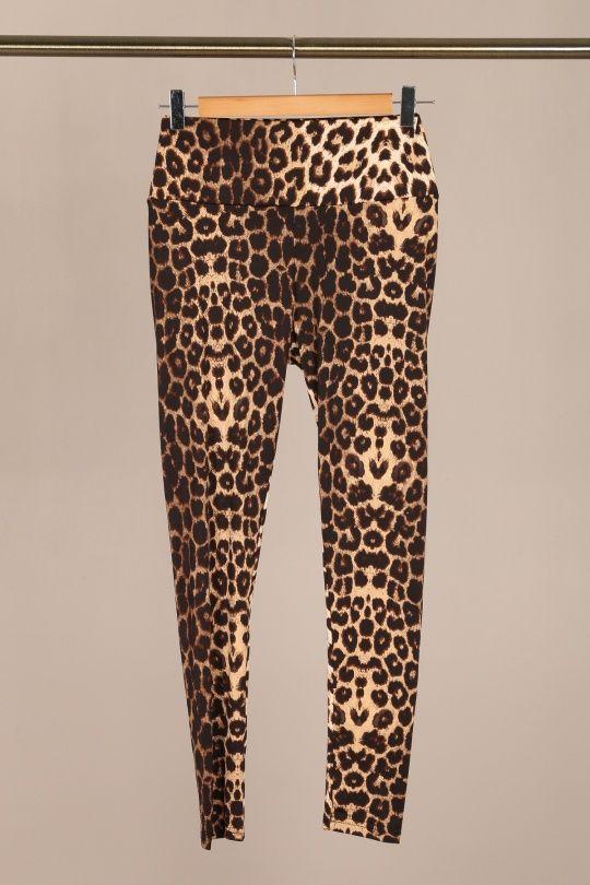 By Swan animal print leggigns - Leopard
