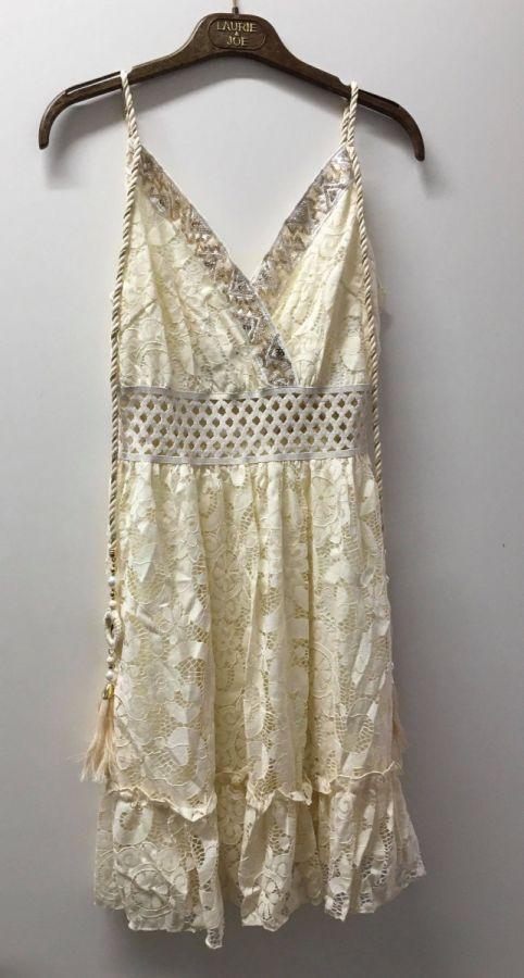 Azaka kjole - beige - kvinde - AT6215