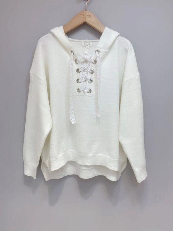 Kilky Thea bluse kvinde yp599 hvid