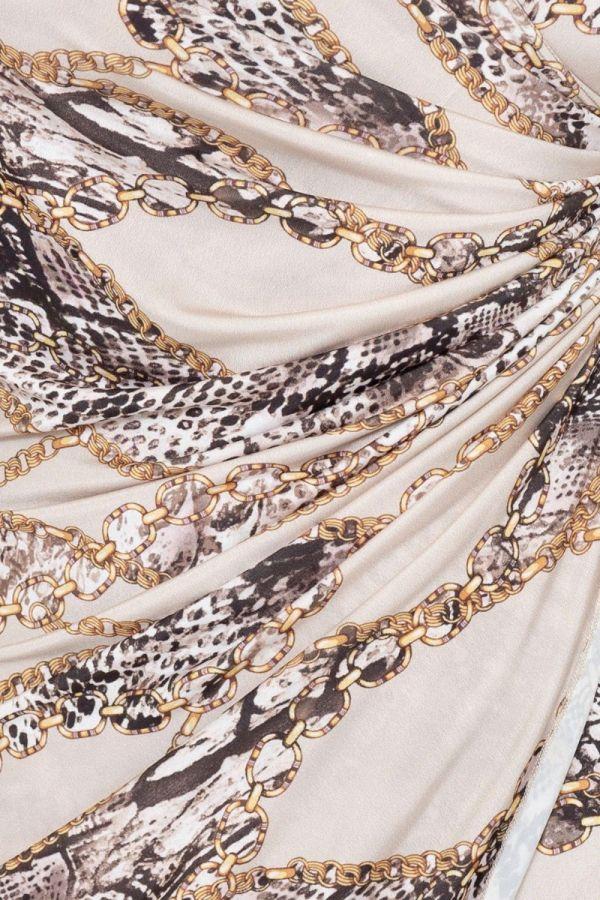 Camille kjole kvinde 7853 beige
