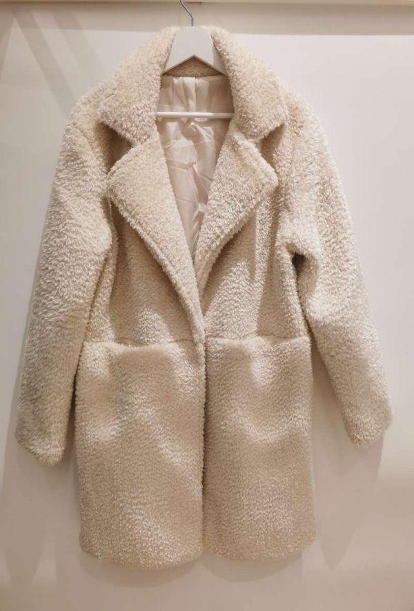 Bellerina - Fake fur jakke - 1689 - Cream