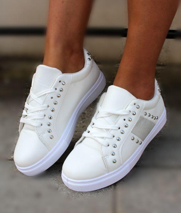 Hvide Sneakers sts-26