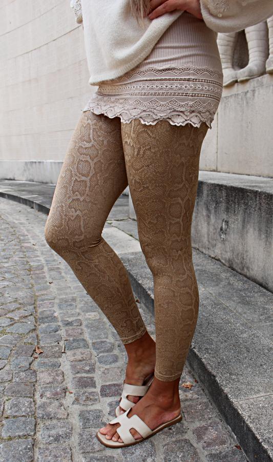 By Baunbaek - Golden Snake leggings