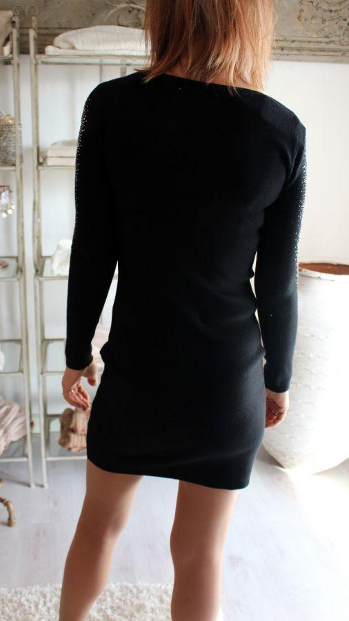 Rosy days kjole - sort - Sh-G1222-WK