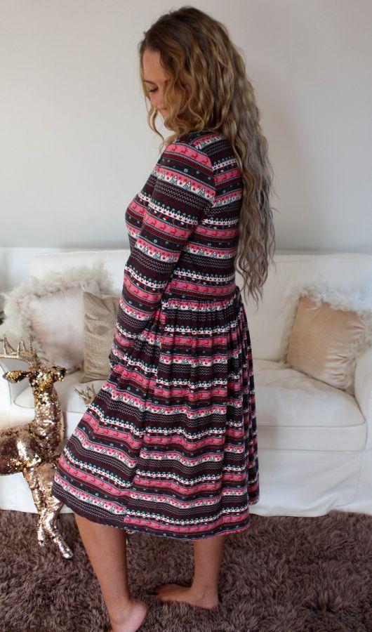 Alma babydoll dress 9559 X-mas