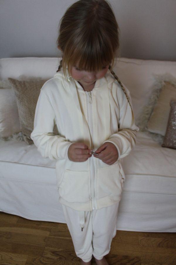 By Baunbaek - Børne sæt med engle vinger - wj8866 cream