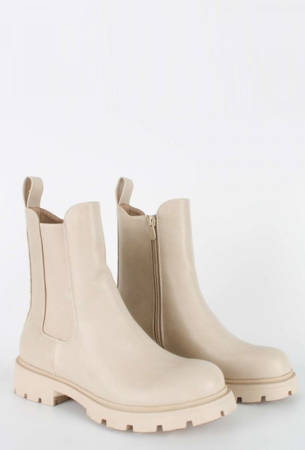 Kamilla støvle cream kvinde DQY2726