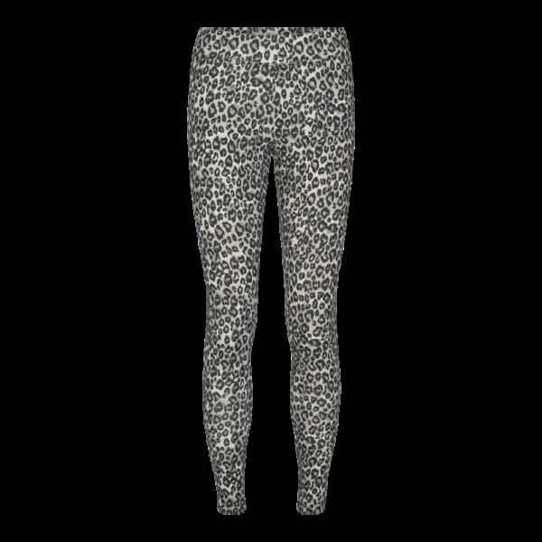 Liberte - Ninni Leggings - sort leopard - 9967 - dame