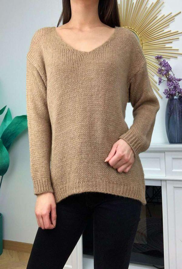 Heather sweater - Taupe