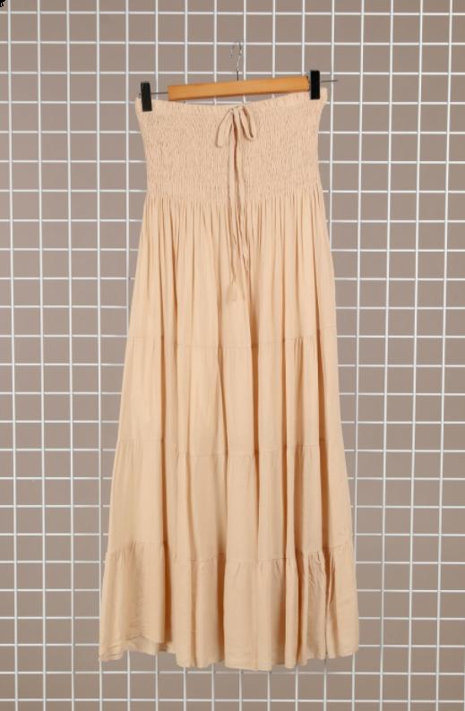 Kilove kjole MC3040 beige