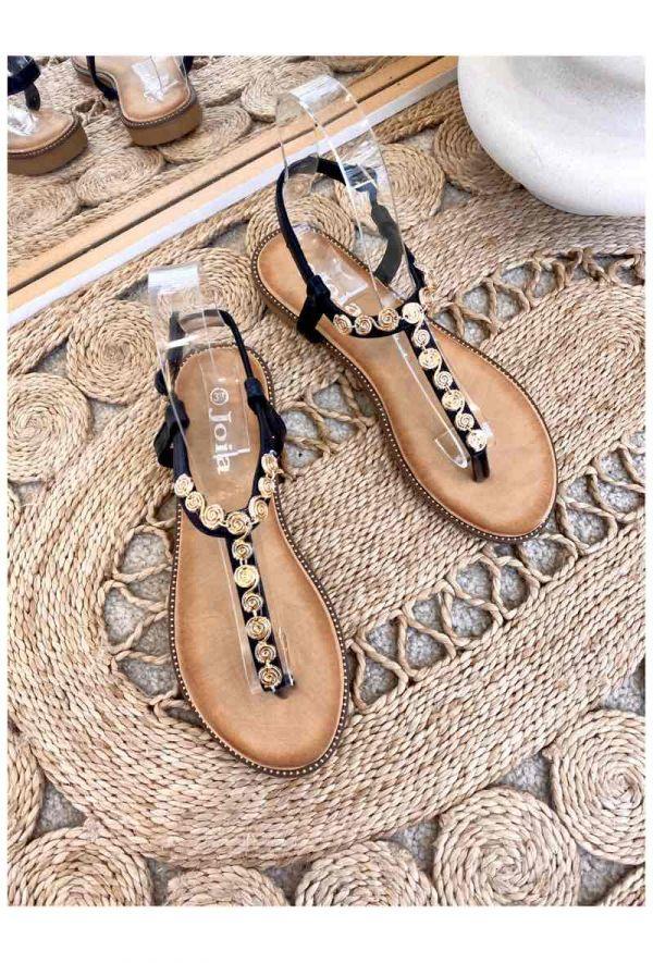 Sofija sandal dame LS112 sort