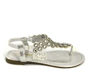Zenta sandal dame LS23 sølv