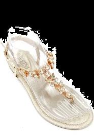 Butterfly sandal guld dame J61